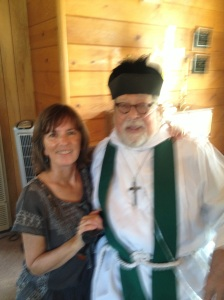 me and Father Joe